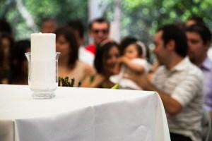 Celebración de un bautizo