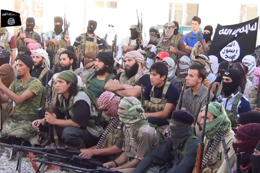 ISIS recruits - es