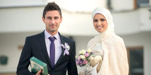 Married islamic couple