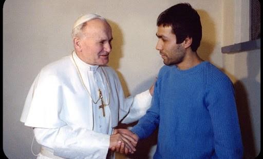 Juan Pablo II y Alí Agca