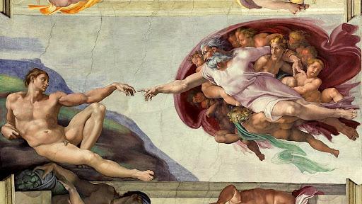 La creación, Capilla Sixtina
