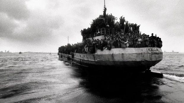 inmigrantes en el mediterráneo