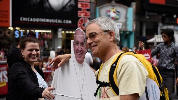 alegría por la visita del papa a eeuu