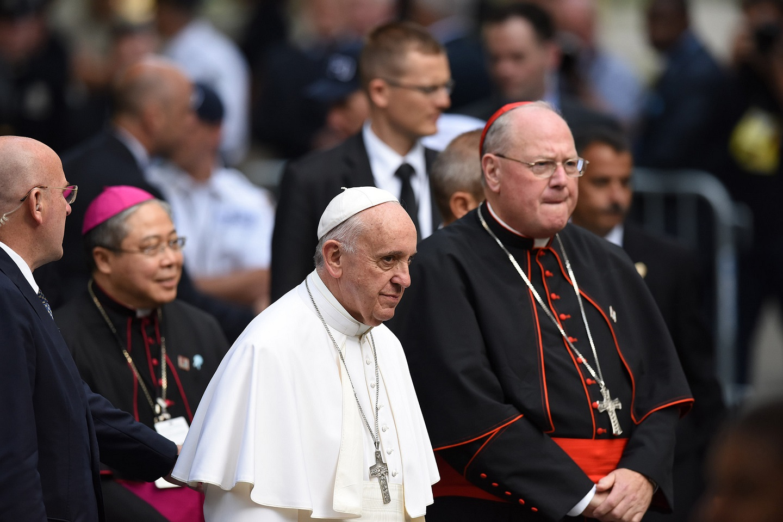 Papa Francisco en Ground Zero
