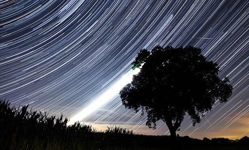 cielo estrellas rasgadas