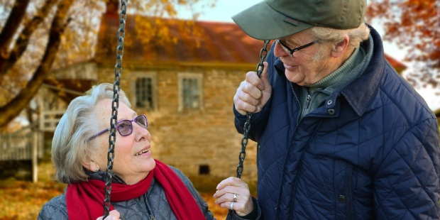 pareja anciana