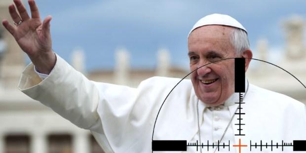 Papa Francisco en la mira