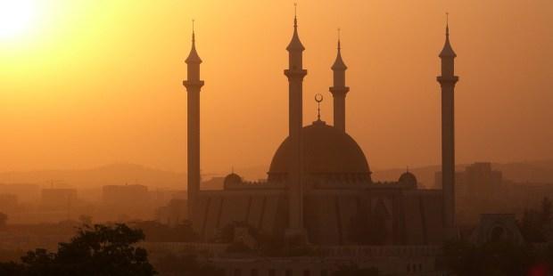 Mezquita en Nigeria