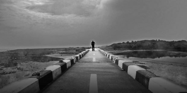 Hombre solitario