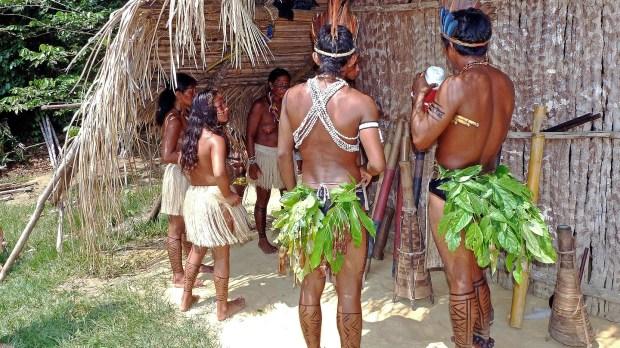 indígenas del Amazonas en Brasil