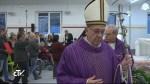 """Francisco abrió Puerta Santa de la Caridad en el refugio de la Caritas """"Don Luigi Di Liegro"""" - Roma"""