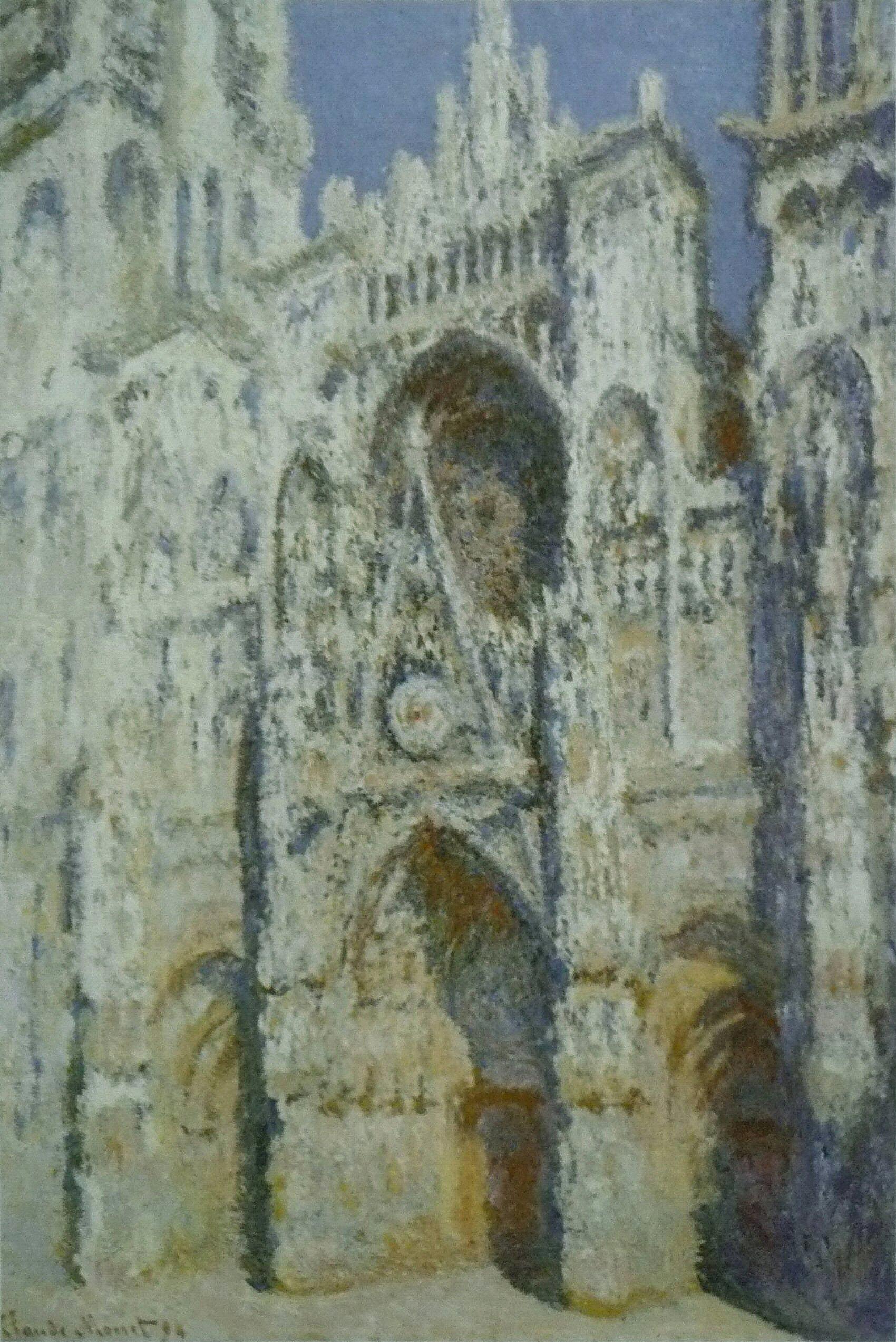 ON THE WAYClaude_Monet_-_Cathédrale_de_Rouen._Harmonie_bleue_et_or