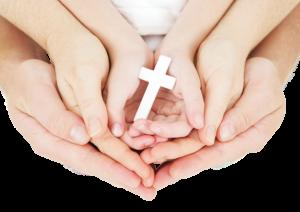 manos familia oración