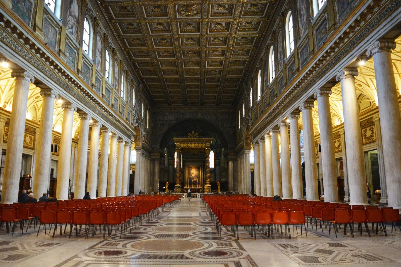 Santa María Mayor, interno
