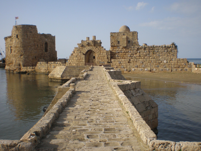 Castillo de Sidón, Líbano