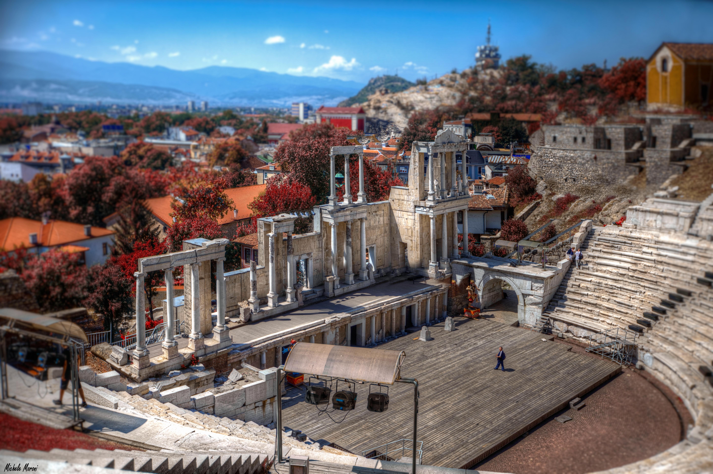 Teatro Romano de Plovdiv, Bulgaria.