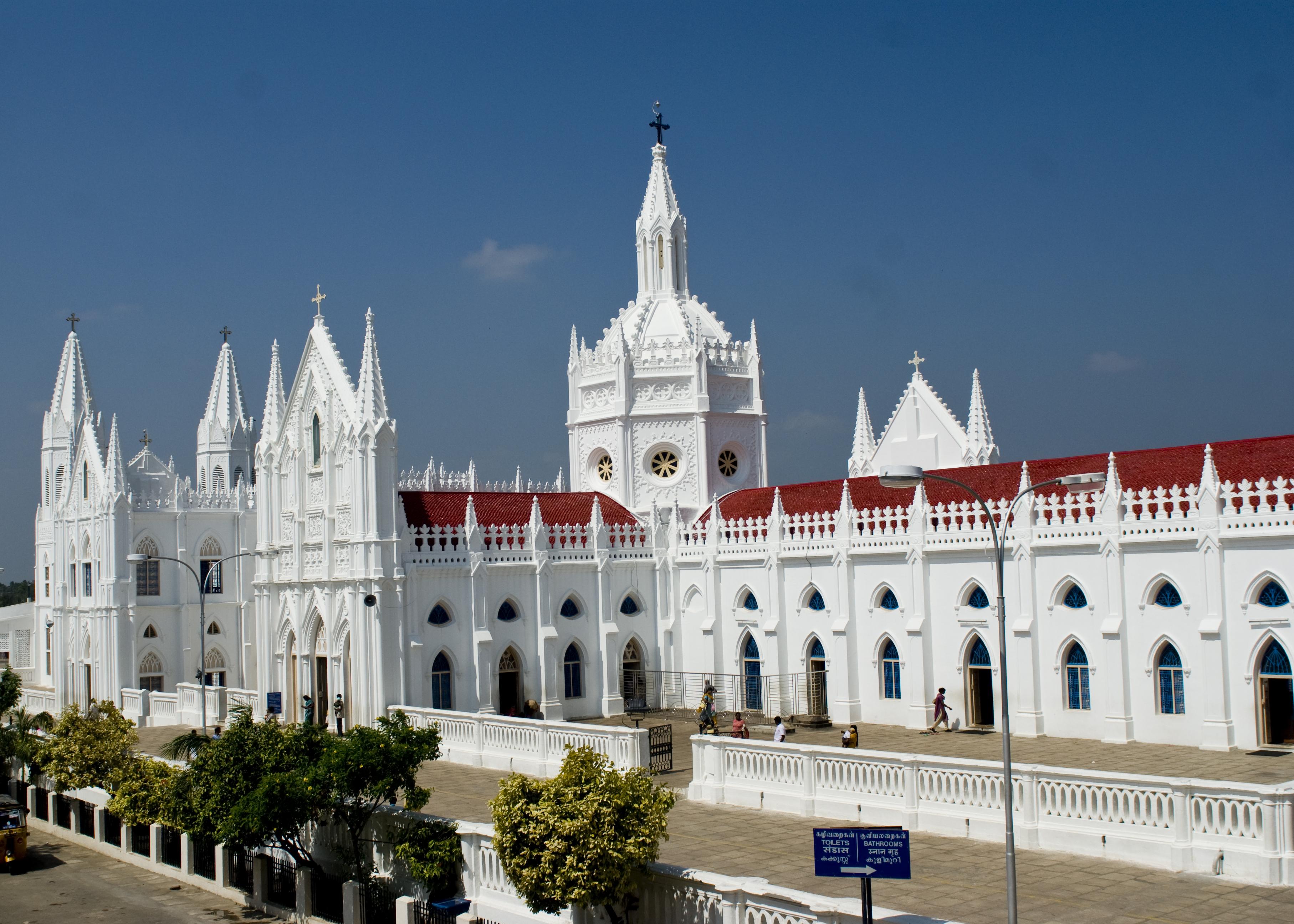 Vailankanni es hoy el hogar de uno de los centros católicos de peregrinaje más grandes de toda India: la Basílica de Nuestra Señora de la Buena Salud.