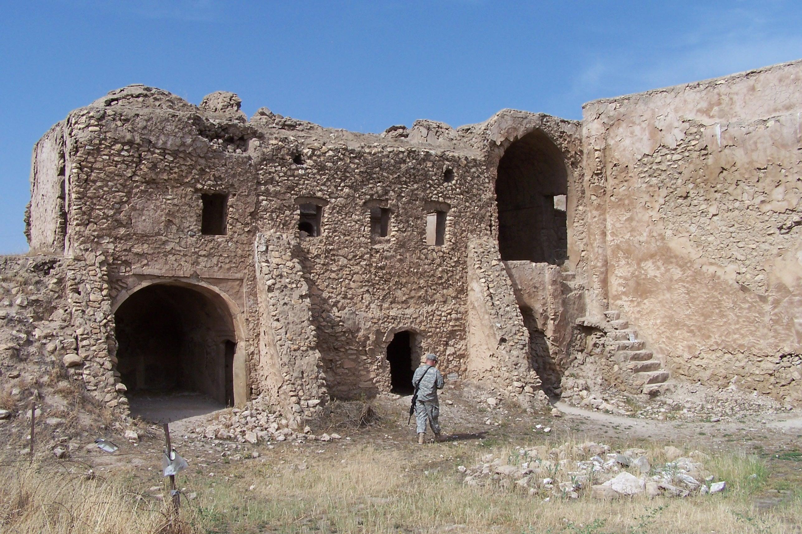 Hasta hace unos meses, el monasterio seguía allí, en Nínive, al norte de Irak.