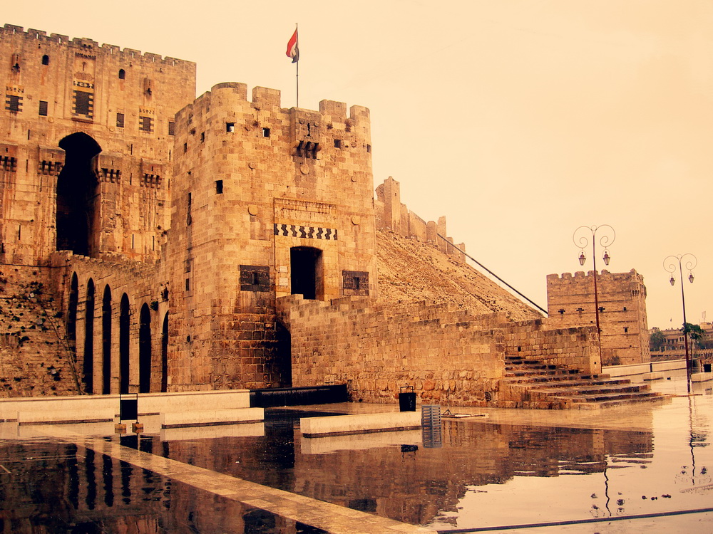 La Ciudadela de Aleppo, Siria.