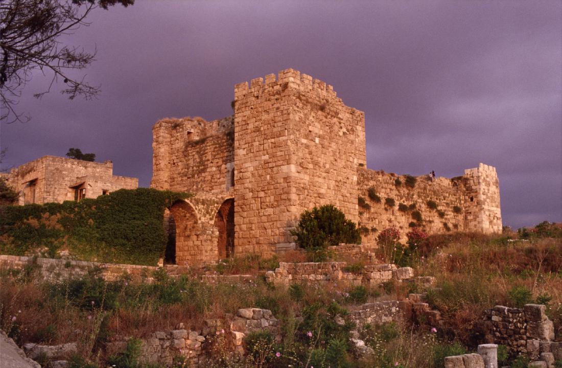 Castillo de los Cruzados, Byblos.