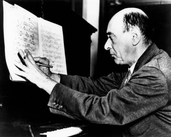 Arnold Schoenberg, padre de la música dodecafónica