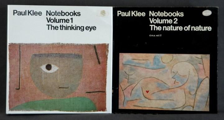 Los cuadernos de Klee, edición impresa.