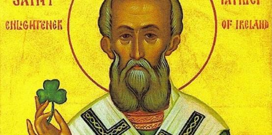 A San Patricio se le atribuye la cristianización de Irlanda, a mediados del siglo V.