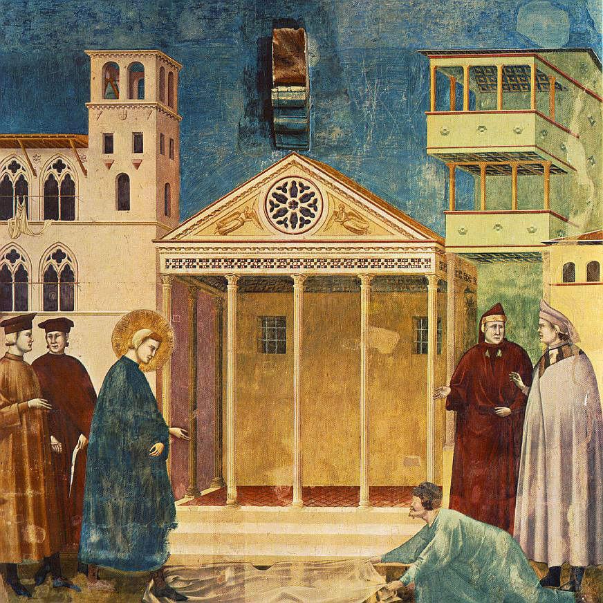 WEB-Giotto_-_Legend_of_St_Francis_-_-01-_-_Homage_of_a_Simple_Man -Public domain-PD