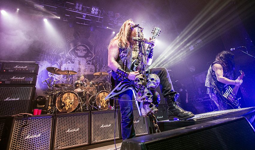 BIRMINGHAM, Reino Unido: Zakk Wylde de Black Label Society actúa en  The Institute, 12 febrero 2015 (Steve Thorne/Redferns via Getty Images)