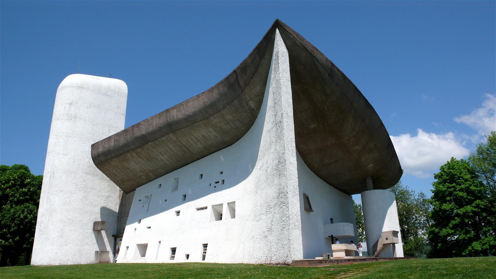Notre Dame Du Haut, en  Ronchamp, de LeCorbusier