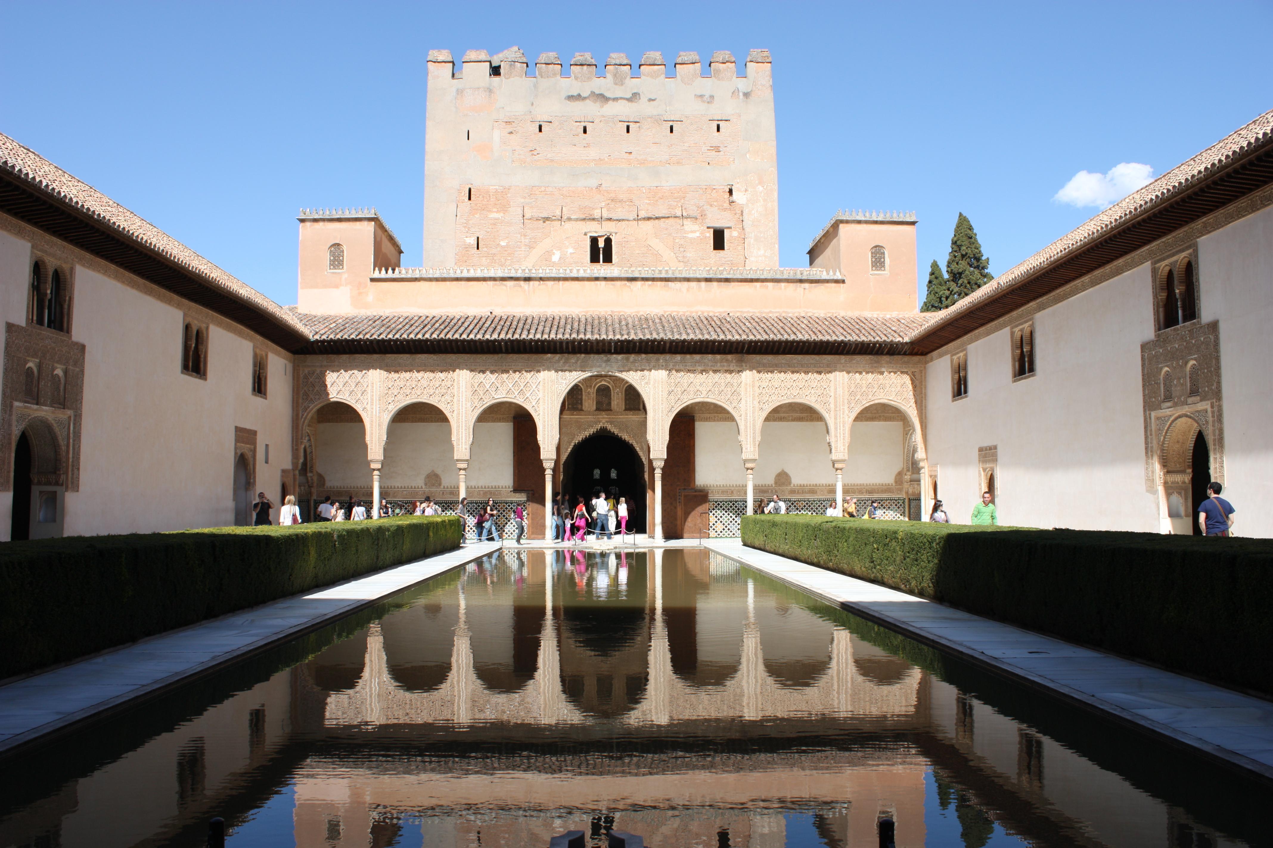 La Alhambra, Granada, España. Imagen de Aidarile, via Flickr.