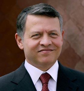 Su Majestad, el rey Abdallah II de Jordania. Imagen cortesía de Petra, Jordan News Agency.