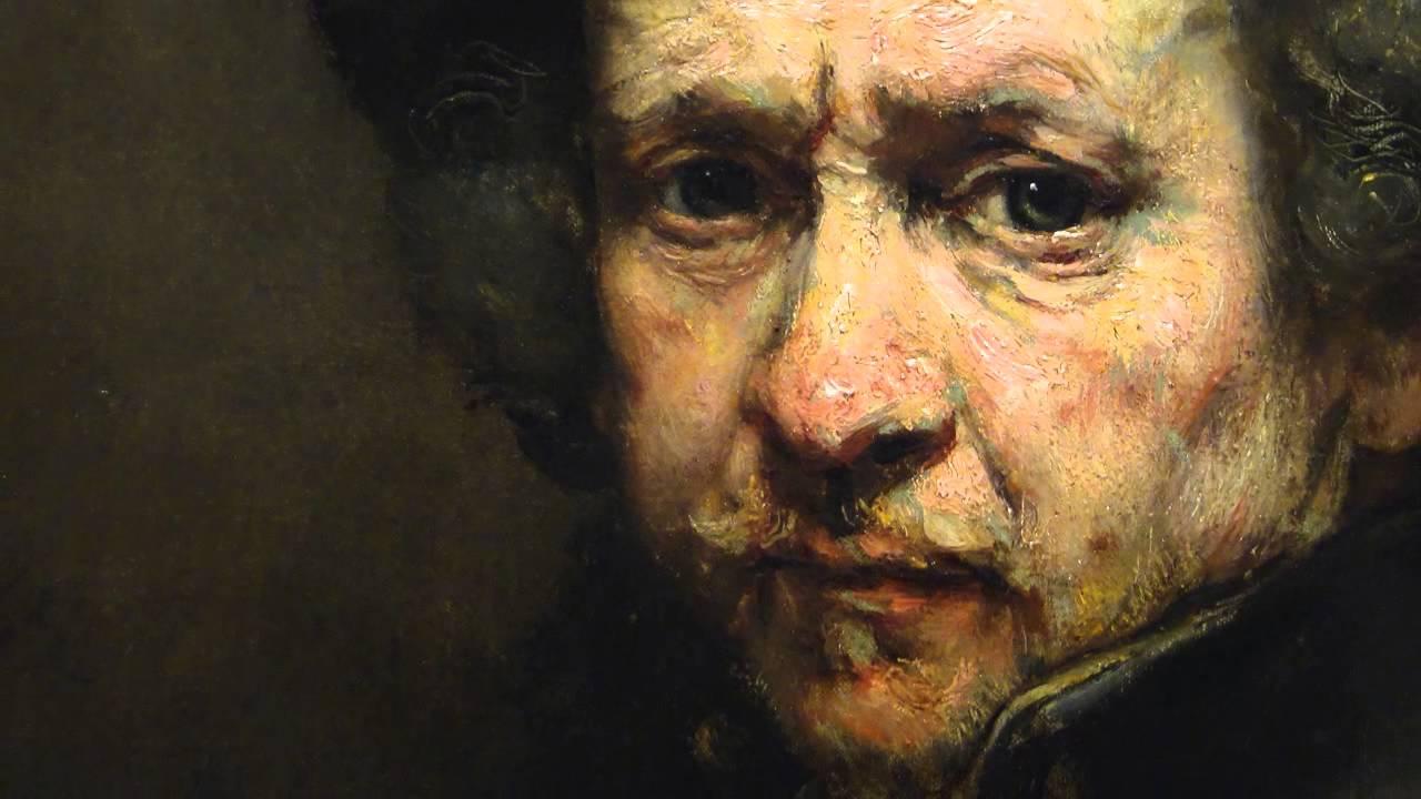 Rembrandt, Autorretrato.