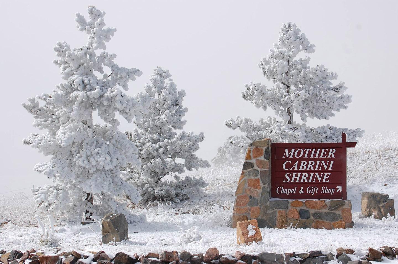 Además del de Manhattan, otro santuario de la Madre Cabrini recibe a los peregrinos en Golden,  Colorado.