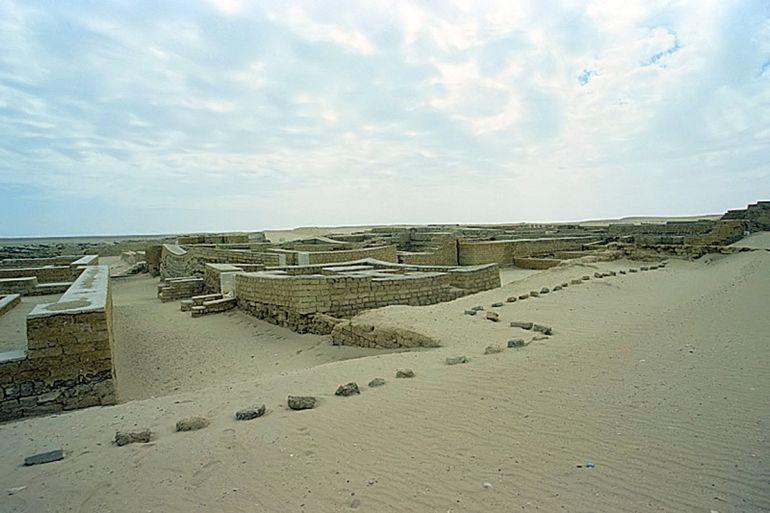 Tebtunnis, cerca de el Fayyum, en Egipto, el pueblo natal de Aurelius Polion