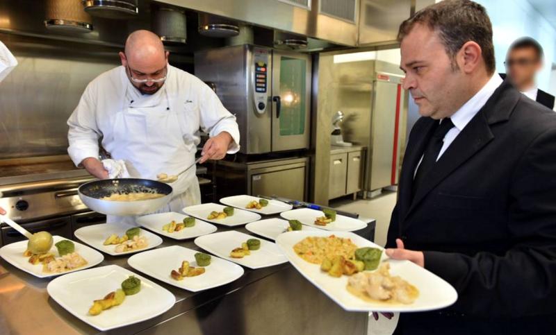 El chef Ivan Manzo, una de las cabezas del proyecto