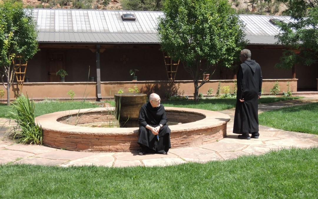 Un monje, cuyo nombre permanece desconocido, alguna vez escribió que la vida religiosa monástica es una intercesión permanente ante Dios en nombre de  quienes sufren, ya sea por la pobreza, el hambre, la discapacidad, la enfermedad, la soledad, las enfermedades mentales, y con demasiada frecuencia, la pérdida de la esperanza.