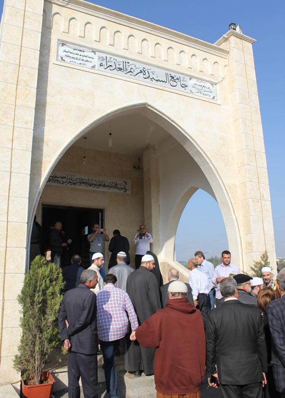 """Este gesto """"encarna el verdadero mensaje de la construcción de mezquitas: un llamamiento a la fraternidad"""""""