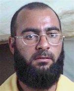 Foto de al-Baghdādī, fundador del ISIS, durante la detención en Camp Bucca en 2004