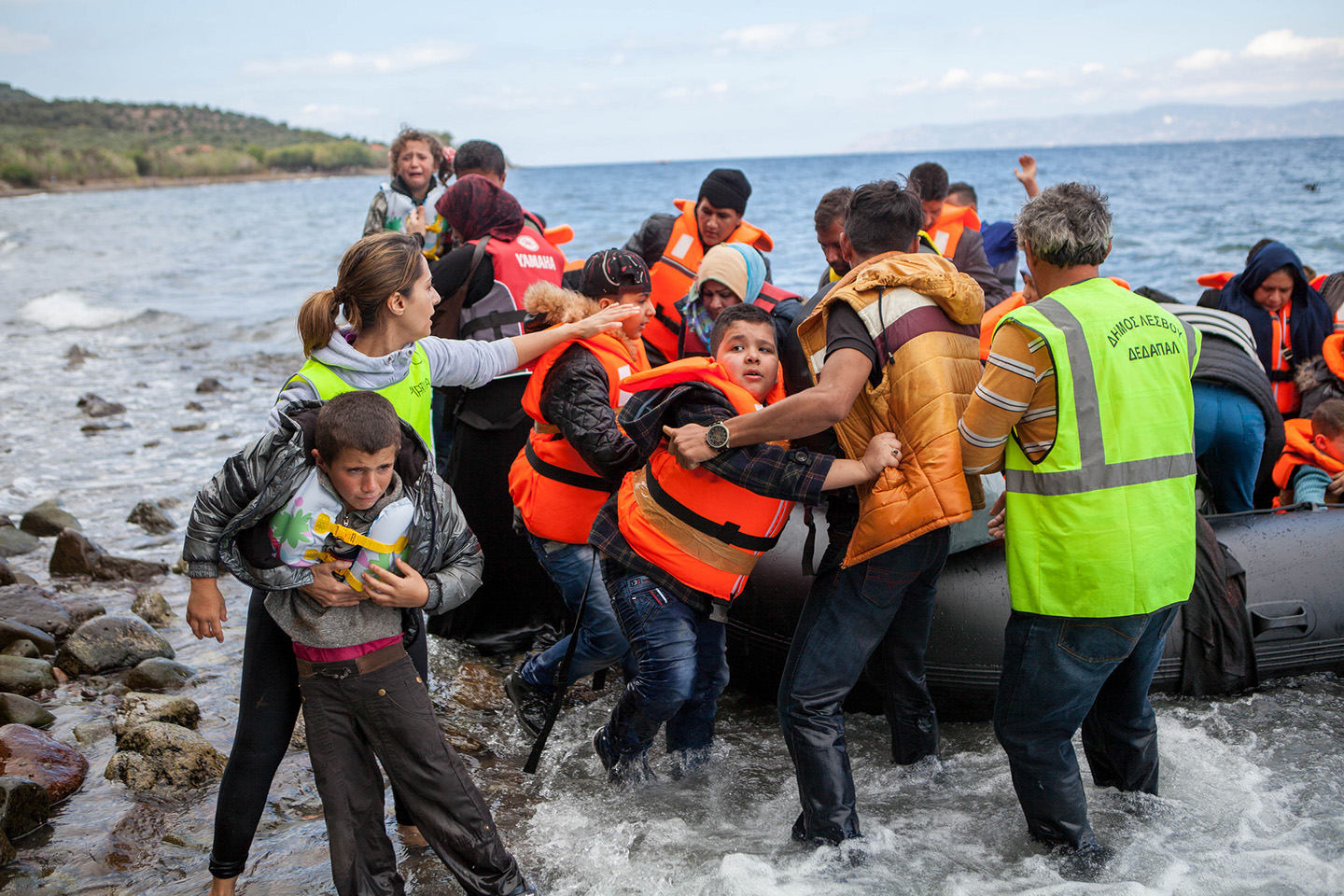 WEB-EUROPE-REFUGEE-CRISIS-LESBOS-GREECE-SEA-Ben White-CAFOD, October 2015-CC