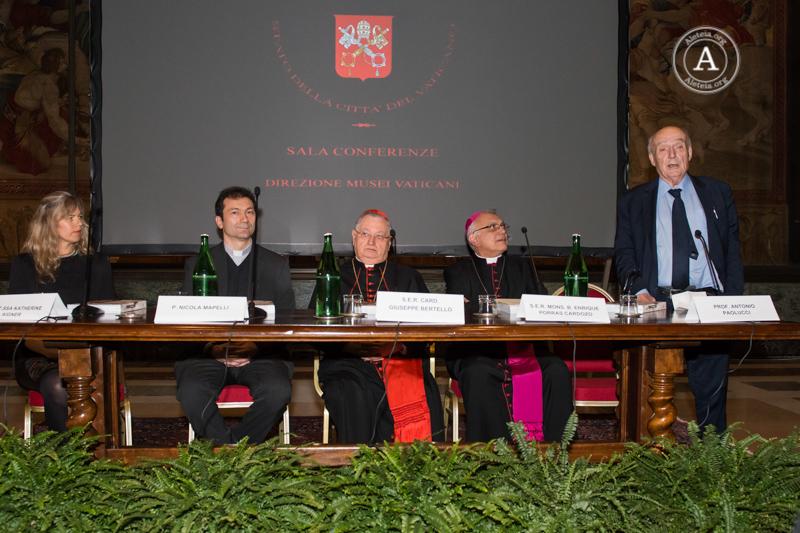 WEB - Presentazione Catalogo Le Americhe - Museo Etnologico Vaticano - 24 maggio 2016 © Antoine Mekary - ALETEIA DSC1669