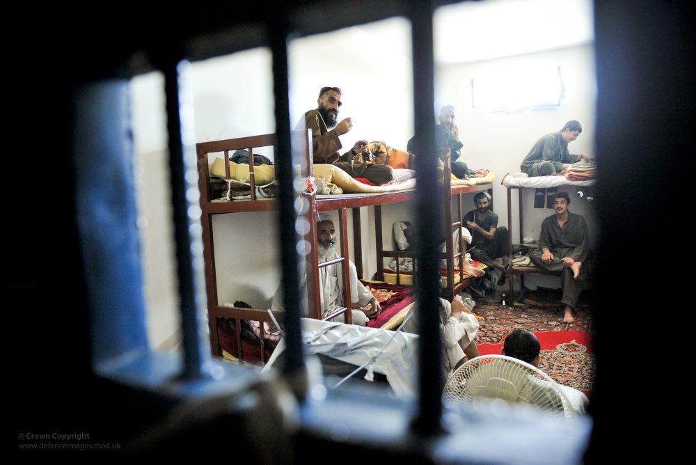 Cell at Lashkar Gah Central Prison