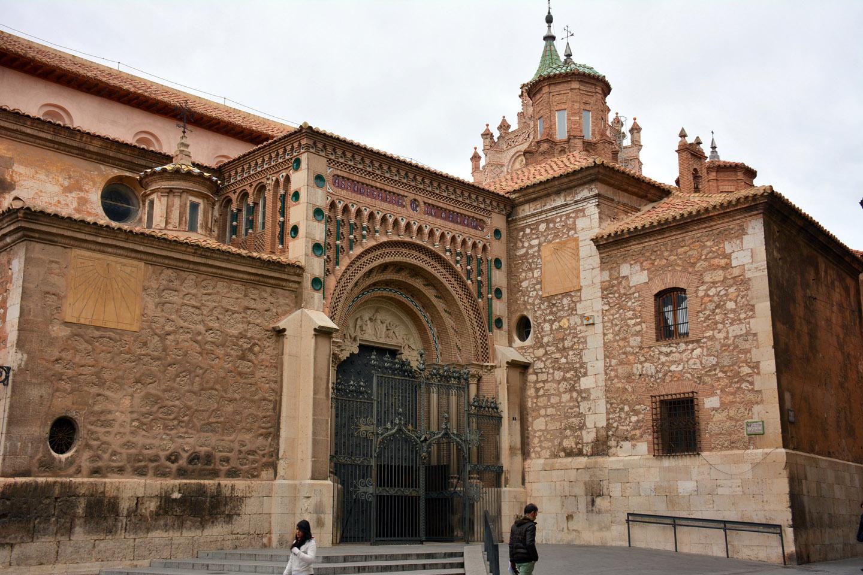 La Catedral de Teruel es un ejemplo excepcional de arquitectura mudéjar.