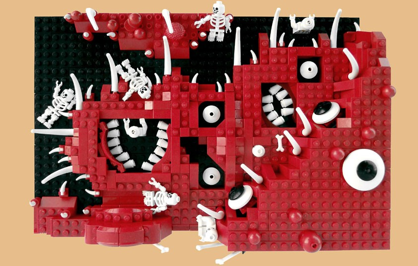 En el tercer círculo, Dante y Virgilio continúan encontrando pecados incontinentes, en particular golosos: están inmersos en el fango, bajo una lluvia incesante de granizo y nieve, y golpeados por Cerbero, guardián de todos los ínferos según la mitología clásica pero aquí relegado a guardián de solo el tercer círculo.