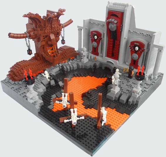Aquí son castigados los herejes en sepulcros en llamas. En el Infierno los seguidores de cada secta están juntos, en contraste a la discordia y a la división que en cambio llevaron a la Iglesia.