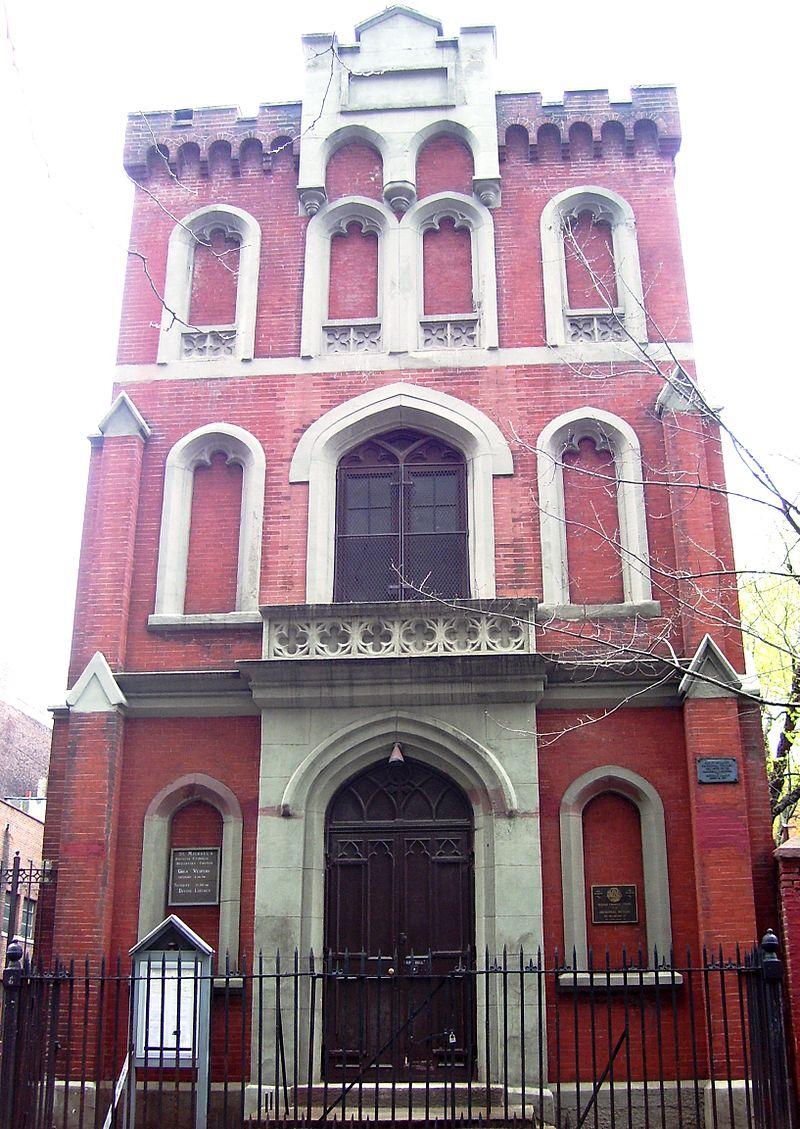 La que anteriormente fuese la casa parroquial de la Vieja San Patricio es hoy una iglesia rusa católica