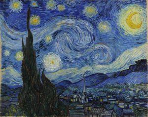 Noche Estrellada. Museo de Arte Moderno, Nueva York