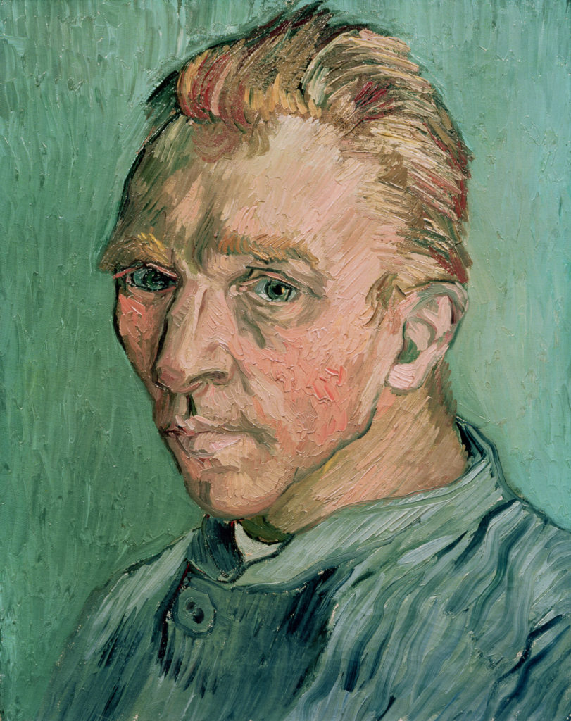 Self Portrait, 1889 (oil on canvas)