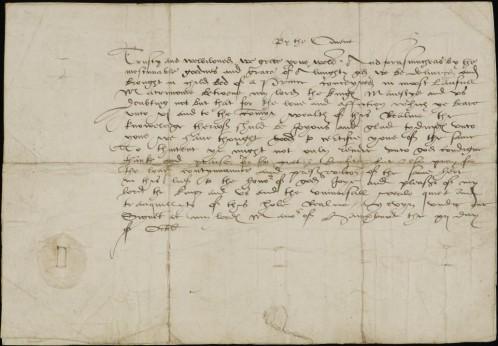 De las diecisiete cartas conservadas, ocho están escritas en francés y nueve en inglés.