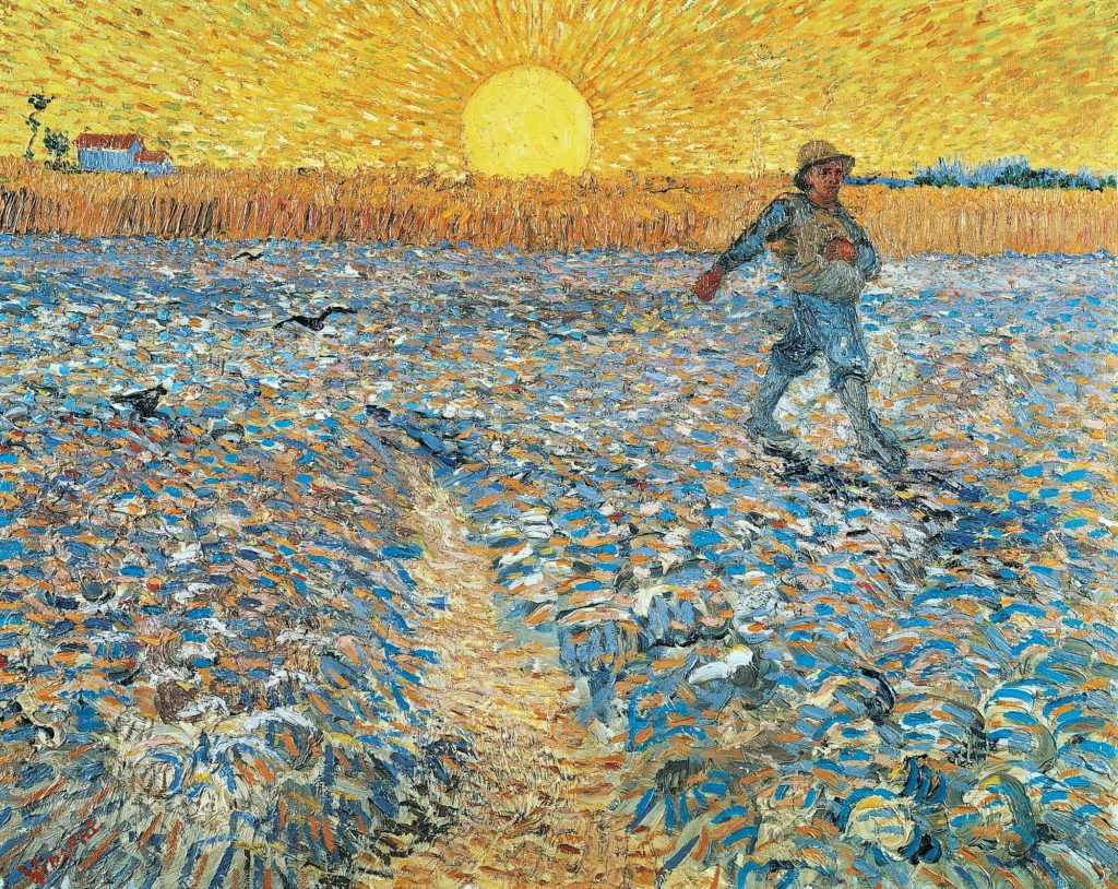La siembra, 1888. Van Gogh Museum, Amsterdam